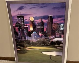 """CLEARANCE !  $3.00 NOW, WAS $16.00.................City Links Poster 28 1/2"""" x 21"""" (H274)"""