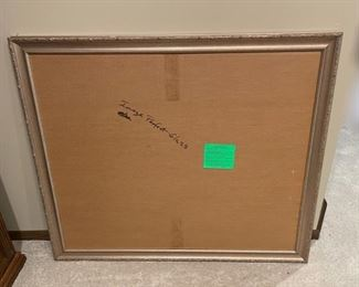 """CLEARANCE !  $3.00 NOW, WAS $16.00....................Large Frame 40"""" x 34 1/2"""" (H271)"""