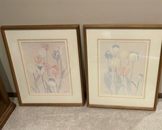 """CLEARANCE !  $3.00 NOW, WAS $16.00.....................Pair Pictures 25"""" x 21"""" (H268)"""