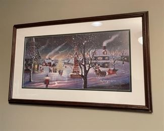 """HALF OFF!  $30.00 NOW, WAS $60.00...............................D Morgan 1993 Remarked 26"""" x 16""""   55/1950  (H263)"""