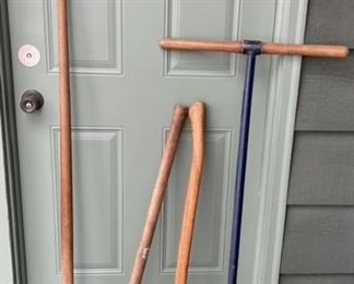 $16.00...................Axes, Post Digger and more (H436)