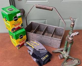 $16.00.................Vintage Sprinkler, Caddy and more (H426)