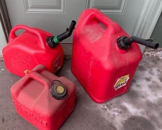 $10.00.................Gas Cans (H416)
