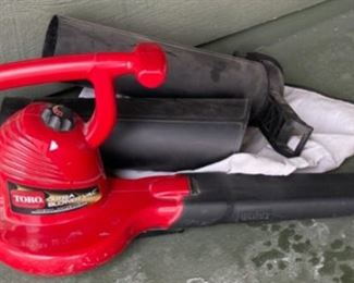 HALF OFF!  $10.00 NOW, WAS $20.00.......................Toro Electric Blower (H415)