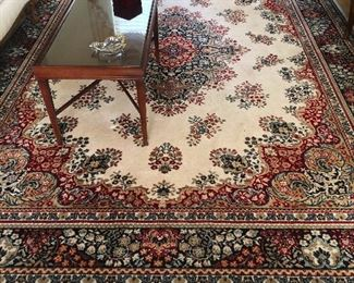 pretty vintage Sears area rugs