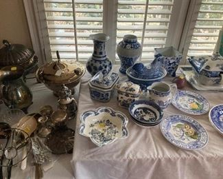 Lots of Blue & white