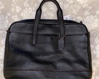 COACH LEATHER BRIEFCASE/ LAPTOP BAG