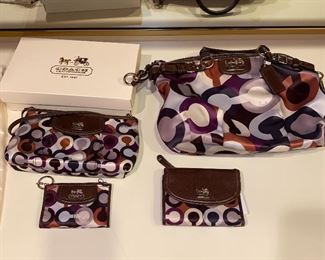COACH HANDBAG / CLUTCH/ WALLET