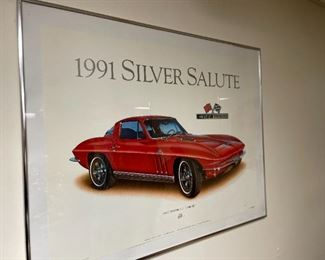 . . . another classic Vette poster