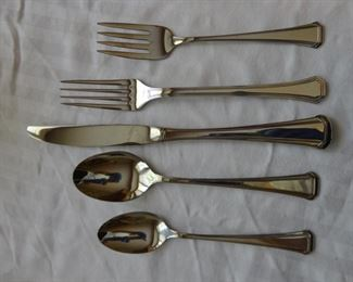 Place setting for 16/ Mikasa Flatware