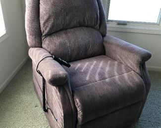 Lift Chair, Charcoal Grey