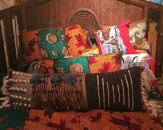 KING SIZE Walnut Bed!