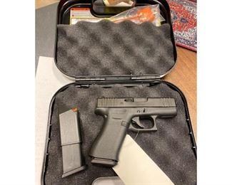 Glock 43X 9mm Semi-Automatic Pistol