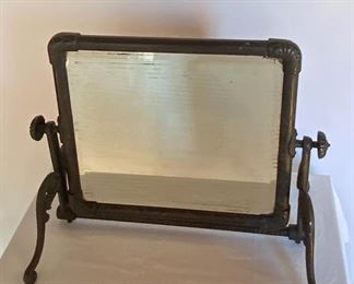 Antique Iron Dressing Table Mirror MB 1. Available ONLINE ONLY @ www.scavengersparadise.com                                              Please read all Terms & Conditions before purchasing.