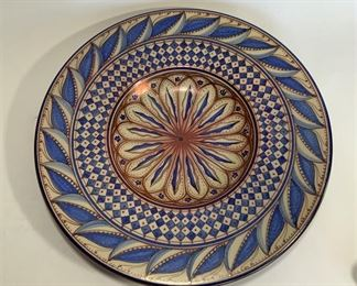 HispanoMoresque Plate DR17.ONLINE ONLY @ www.scavengersparadise.com                                                     Please read all Terms & Conditions before purchasing.