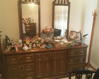 . . . another mirrored bedroom dresser