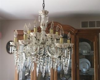 . . . another beautiful chandelier