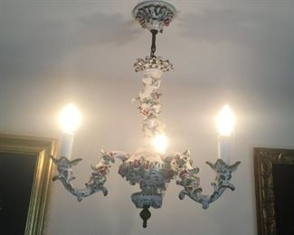 . . . yes, these light fixtures are for sale!