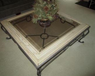 WITH MATCHING COFFEE TABLE