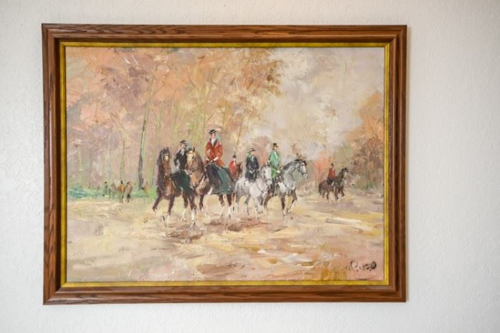 W.P. Van Ed original painting