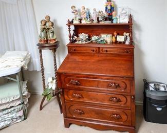 Davis Company Lillian Russell desk (base & top)