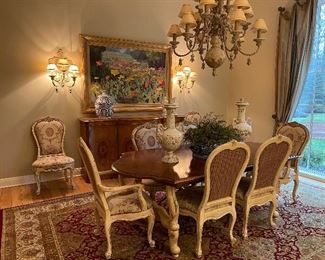 Absolutely Stunning Century Dining Table with 8 Chairs  Century Sideboard