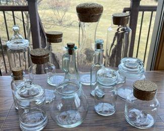 $8.00......................Glass Bottles/Jars (S067)
