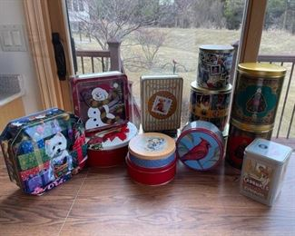 CLEARANCE !  $2.00 NOW, WAS $10.00.......................Tins (S071)