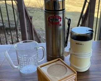 $8.00....................Grinder, Coasters and more (S057)