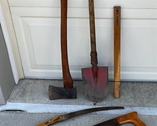 REDUCED!  $10.50 NOW, WAS $14.00......................Saws, Axe and more (S030)