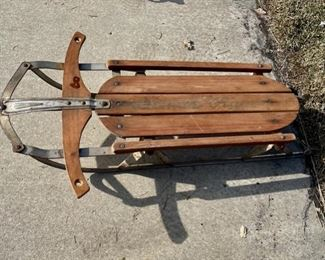 REDUCED!  $15.00 NOW, WAS $20.00...................Vintage Sled (S025)