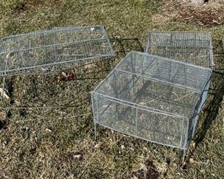 HALF OFF!  $5.00 NOW, WAS $10.00..................Plant Cages (S015)
