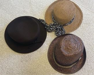 HALF OFF!  $6.00 NOW, WAS $12.00.....................3 Hats (S186)