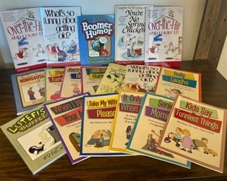 REDUCED!  $10.50 NOW, WAS $14.00...................Joke Books (S182)