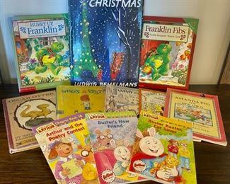 HALF OFF!  $5.00 NOW, WAS $10.00.................Children's Books (S180)