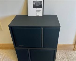 REDUCED!  $90.00 NOW, WAS $120.00...................Pair Bose 201 Series III Speakers (S171)