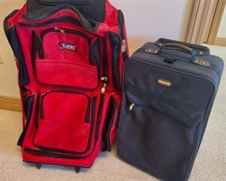 REDUCED!  $7.50 NOW, WAS $10.00..................2 Suitcases (S170)