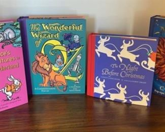 HALF OFF!  $10.00 NOW, WAS $20.00.................4 Popup Books (S164)