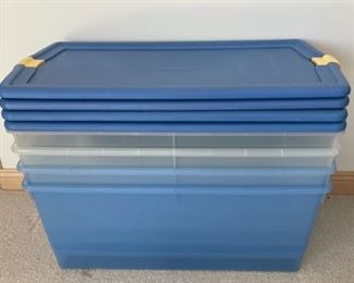 $20.00...........................4 Large Rubbermaid Tubs (S155)