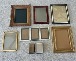 CLEARANCE !  $2.00 NOW, WAS $6.00...............Frames (S158)