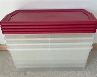$20.00........................4 Large Rubbermaid Tubs (S156)