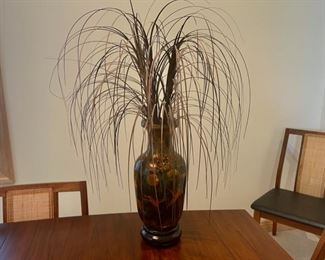 """CLEARANCE !  $6.00 NOW, WAS $25.00.....................Vase 15"""" tall (S115)"""