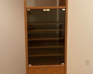 """CLEARANCE !  $10.00 NOW, WAS $50.00...............Stereo Cabinet 24"""" wide, 19"""" deep, 68"""" tall (S285)"""