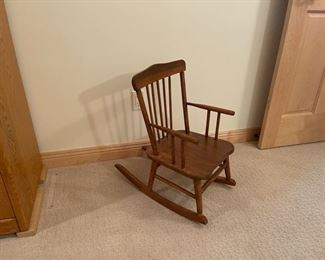 HALF OFF!  $7.00 NOW, WAS $14.00................Mini Rocking Chair (S275)