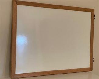 """$12.00...................White Board 41"""" x 30"""" (S273)"""