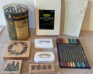 HALF OFF!  $8.00 NOW, WAS $16.00...................Stamps, Scissors and more (S268)