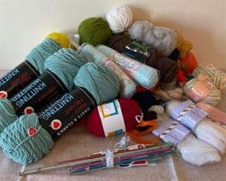 $12.00..................Yarn and Knitting Needles (S252)