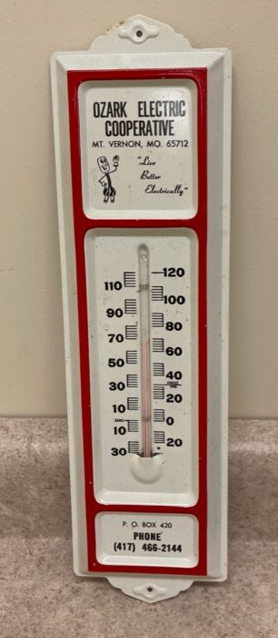 $8.00................Ozark Electric Cooperative Thermometer  (S248)