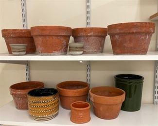 $14.00.................Terracotta Pots (S239)