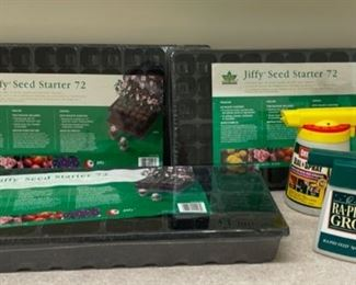 REDUCED!  $10.50 NOW, WAS $14.00...............Jiffy Seed Starters and more (S233)